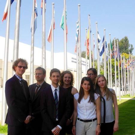 holylandmun 2015 delegation