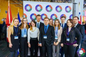 Offizieles Delegations Foto