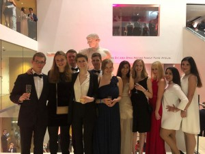 Our Delegation at the Ashmolean ball.